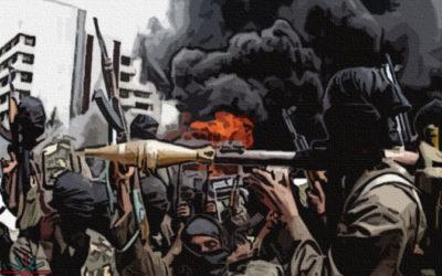 Did 'at least 50,000' Nigerians die from terrorism in 2017?