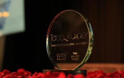 amaBhungane, Daily Maverick and News24 investigation wins 2017 Taco Kuiper Award