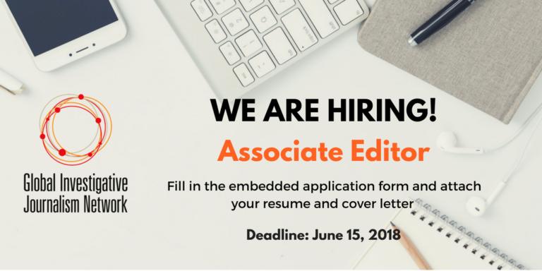 Global Investigative Journalism Network seeking an Associate Editor