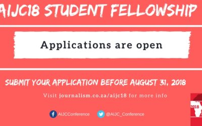 Call for applications: Student Fellowships for #AIJC18