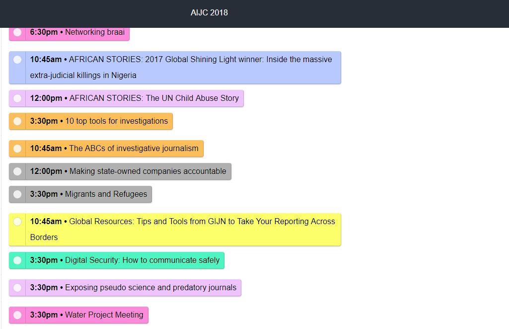 AIJC18 Programme released