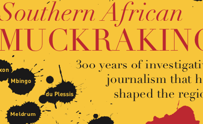 Invitation: Southern African Muckraking book launch
