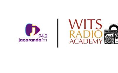 Jacaranda FM / Wits Radio Academy – 12 month internship