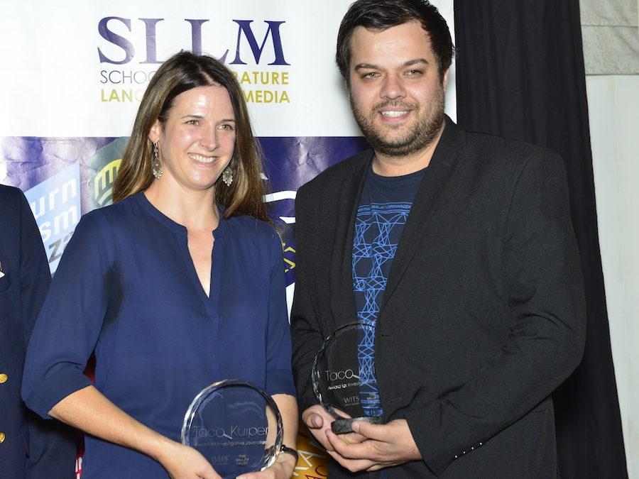 Investigative journalists from amaBhungane and News24 win 2018 Taco Kuiper Awards