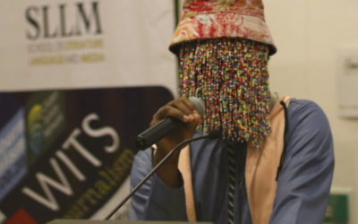 Anas on journalism: 'Naming, shaming and jailing'