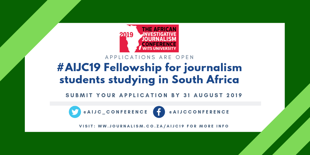Call for applications: Student Fellowships for #AIJC19
