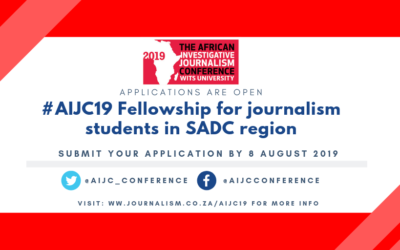 Call for applications: SADC student's journalist Fellowships for #AIJC19