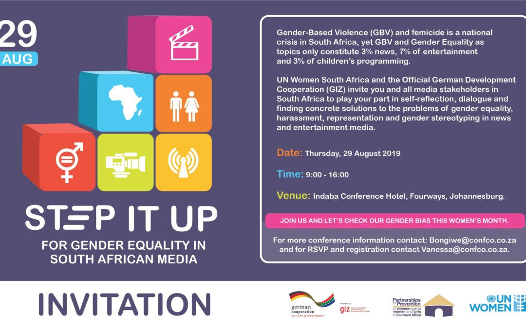 Invitation for GIZ UN Women Media Conference