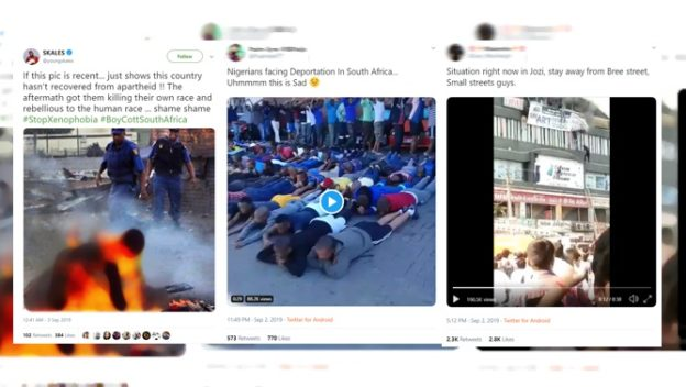 AFRICA CHECK: Think before you share! Old, misleading videos said to be of xenophobic violence in SA are going viral