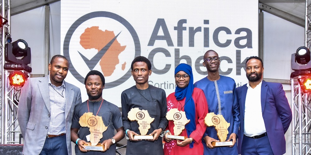 Nigerian and Senegalese journalists lauded at Africa Check Fact-Checking Awards