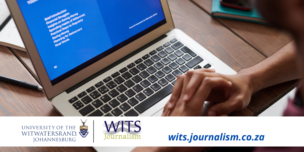 Skills courses at Wits Journalism to be offered on a blended basis