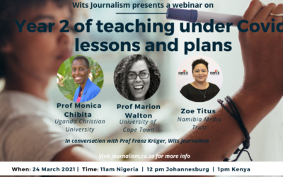 Midweek Webinar: Year 2 of teaching under Covid: lessons and plans