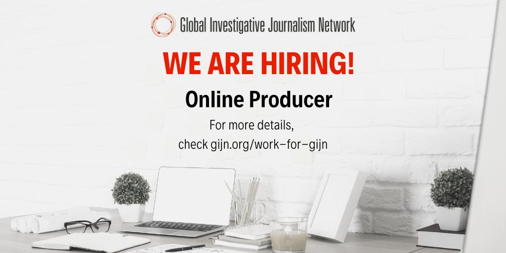 GIJN seeks an Online Producer